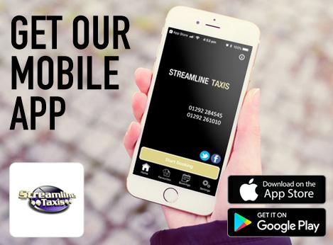 streamline taxi mobile app